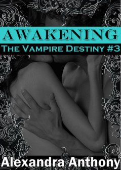 Click the image to read a sample of Alexandra's latest book, Awakening. (Cover by Ally Thomas.)