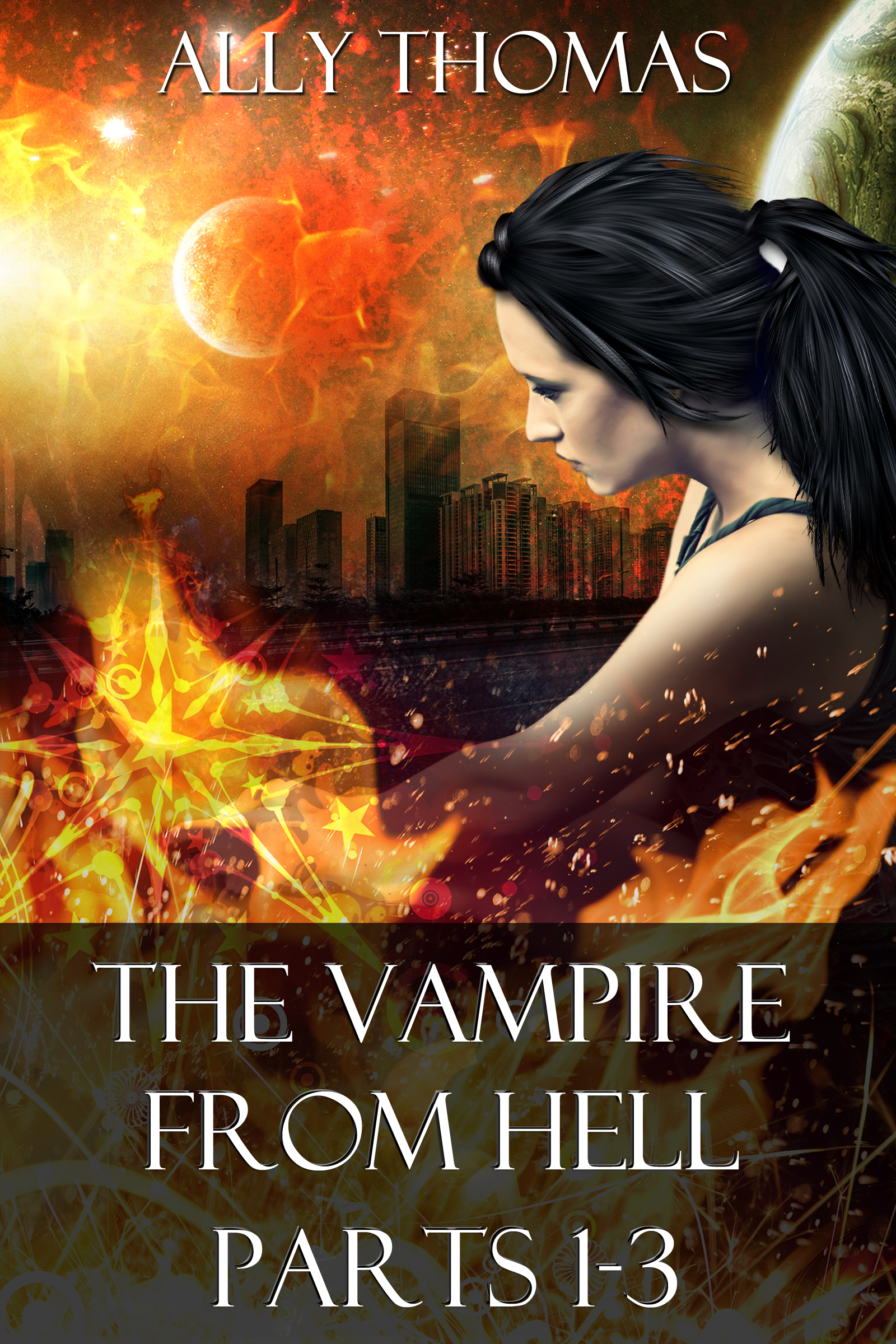 Start Ally's Vampire from Hell series for Free. Click the image to find out more at www.allythomas.com.